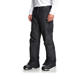 Quiksilver Estate Textured Pants Men black heather
